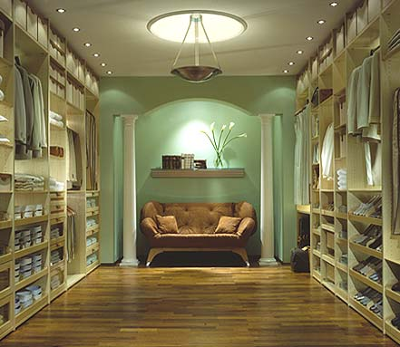 If you are going to have a closet it might as well be for Luxury walk in closets