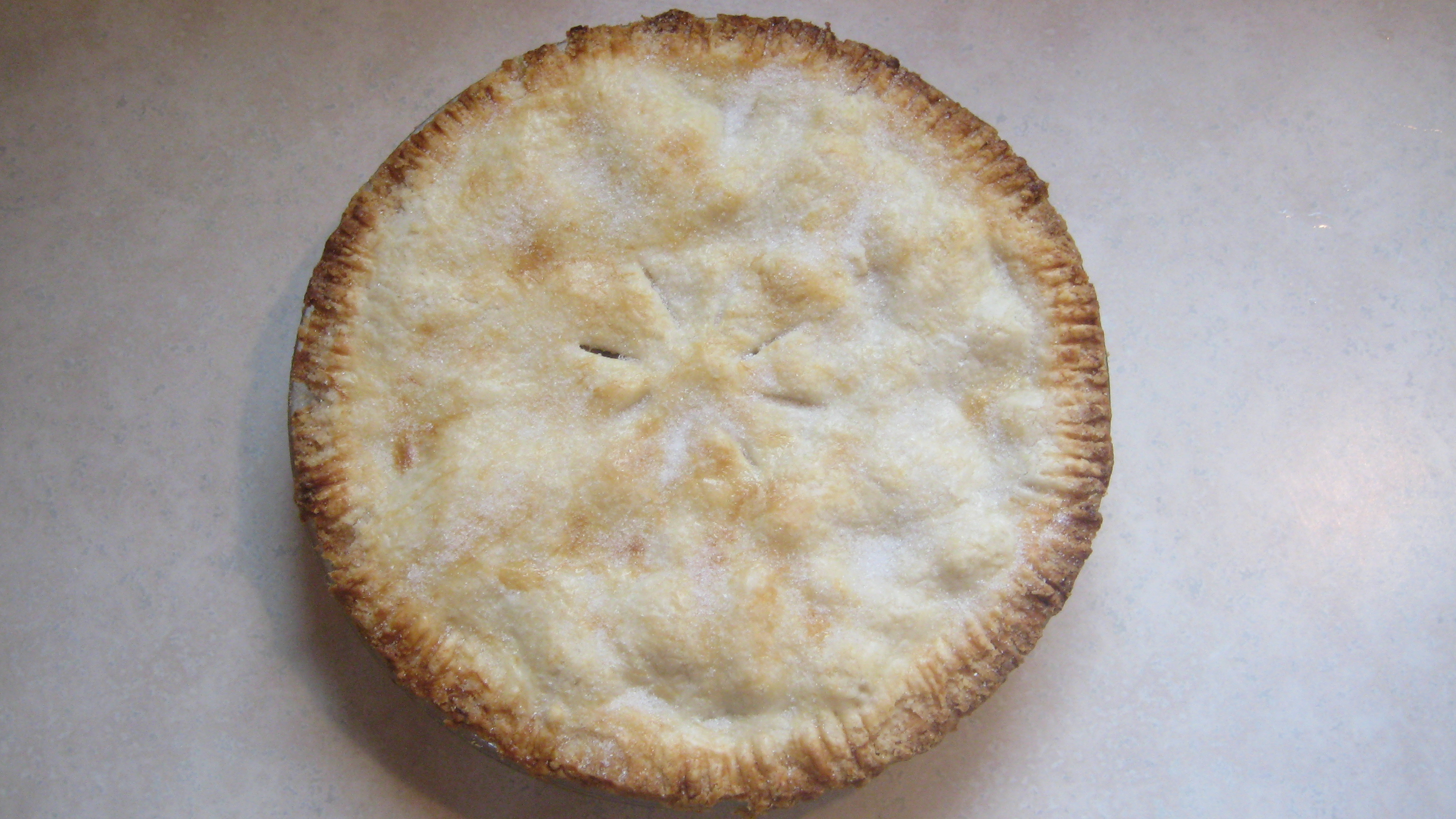 This perfect pie crust recipe makes one double pie crust or two single ...